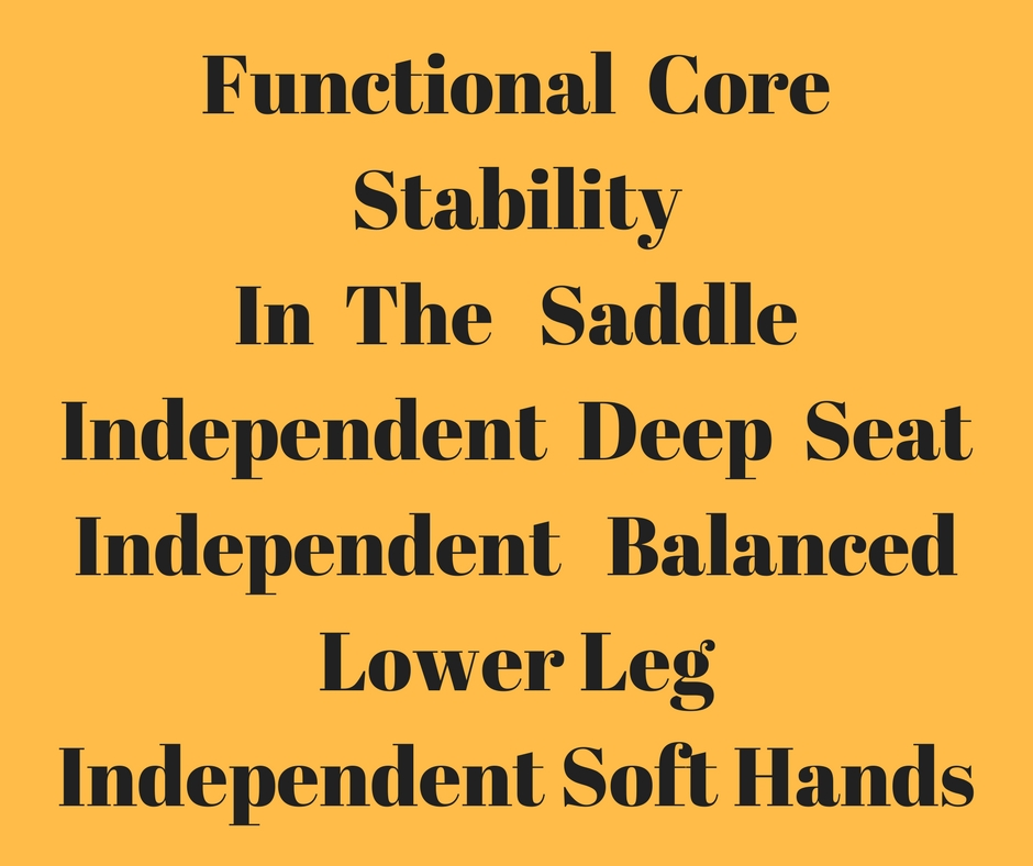 Applied Posture RidingAnnette WillsonTraining Riders To RideRiding With Your Core 1