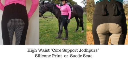 Applied Posture Riding Core Support Jodhpurs 5 websize