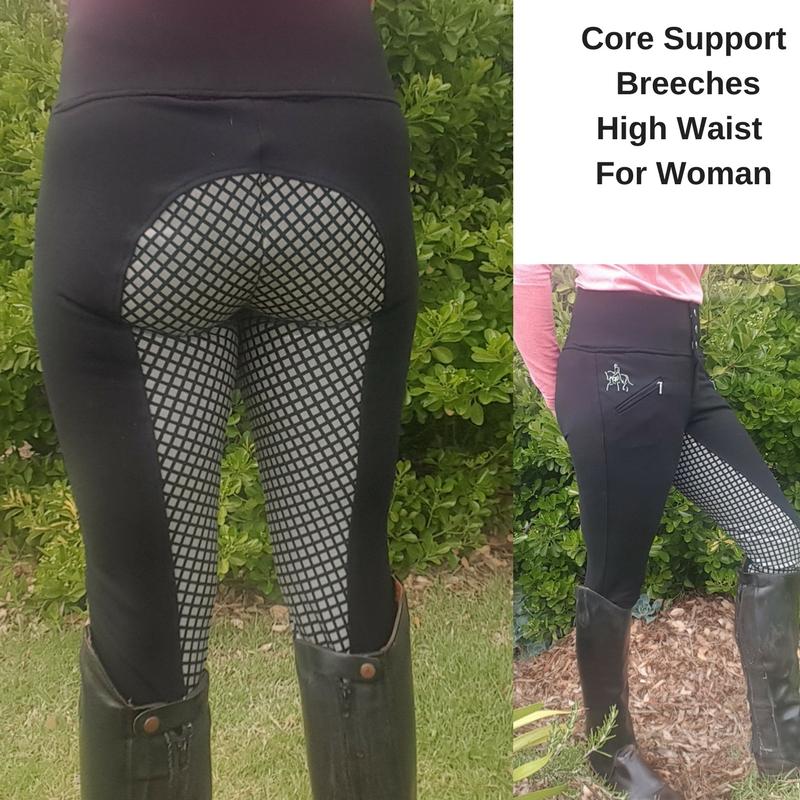 Core Support BreechesHigh Waist For Woman 2