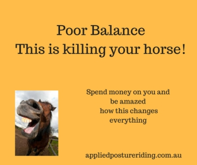 Poor BalanceThis is killing your horsequote websize
