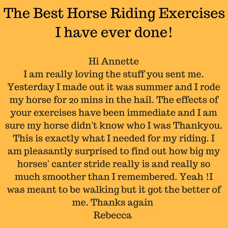 The best Horse Riding exercises I have ever done 1